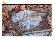 Weathered Wood Carry-all Pouch
