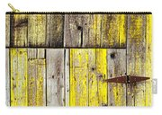 Weathered Wooden Barn, Gaviota, Santa Carry-all Pouch