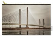 Weathering Weather At The Indian River Inlet Bridge Carry-all Pouch