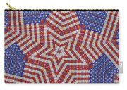 Weave A Star And Rainbow Carry-all Pouch