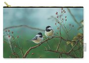 Web Chickadees Carry-all Pouch