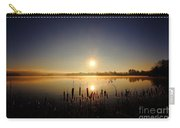 Webster Lake December Sunrise  Carry-all Pouch