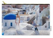 Wedding At Santorini Carry-all Pouch