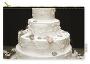 Wedding Cake Petals Carry-all Pouch