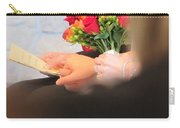 Wedding Hands Carry-all Pouch