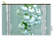 Wedding Happiness Greeting Card - Lily Of The Valley Flowers Carry-all Pouch