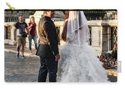 Wedding Stroll On The Ponte Sant'angelo Carry-all Pouch