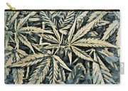 Weed Abstracts Four Carry-all Pouch