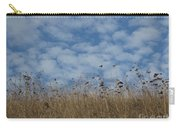 Weeds And Dappled Sky Carry-all Pouch