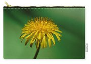 Weedy Green Carry-all Pouch by Barbara St Jean