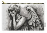 Weeping Angel Watercolor Carry-all Pouch