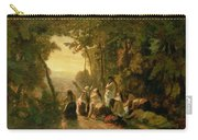 Weeping Of The Daughter Of Jephthah Carry-all Pouch