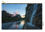 Weeping Wall At Dusk Carry-all Pouch