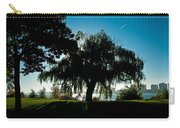 Weeping Willow Silhouette Carry-all Pouch