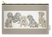 Weimaraner Puppies Carry-all Pouch