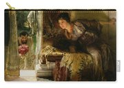 Welcome Footsteps Carry-all Pouch by Sir Lawrence Alma-Tadema