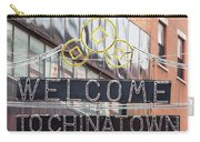 Welcome To Chinatown Sign In Manhattan Carry-all Pouch