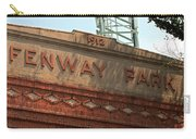Welcome To Fenway Park Carry-all Pouch