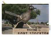 Welcome To Fort Stockton Carry-all Pouch