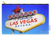 Welcome To Las Vegas Sign Only Boulder Highway Day Carry-all Pouch