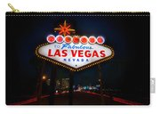 Welcome To Las Vegas Carry-all Pouch by Steve Gadomski