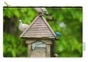 Welcome To My Bird Feeder Carry-all Pouch