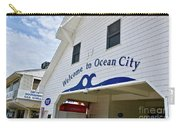 Welcome To Ocean City Maryland Carry-all Pouch