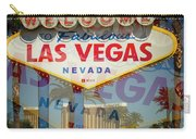 Welcome To Vegas Xiii Carry-all Pouch