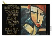 Well-behaved Women Poster Carry-all Pouch