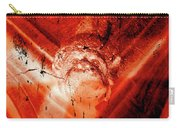 Wells Cathedral Gargoyles Color Negative D Carry-all Pouch