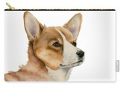Welsh Corgi Dog Painting Carry-all Pouch