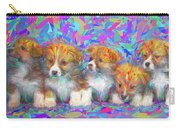 Welsh Corgi Pups Carry-all Pouch
