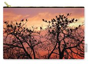 Wente Road Sunset Carry-all Pouch