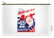 We're All In It - Ww2 Carry-all Pouch