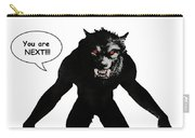 Werewolf Comic Illustration 1 Carry-all Pouch
