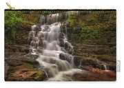 West Bank View Of Sgwd Isaf Clun-gwyn Falls Carry-all Pouch