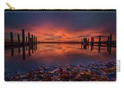 West Boat Launch Fall Sunrise Carry-all Pouch