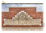 West Bottoms Fire Station Terracotta Dwc Carry-all Pouch