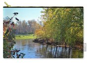 West Branch Iowa River Carry-all Pouch