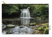 West Burton Falls, Yorkshire, England Carry-all Pouch