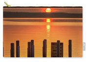 West Dnr Boat Launch July Sunrise Carry-all Pouch