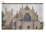 West Front, Exeter Cathedral Carry-all Pouch