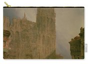 West Front Of Notre Dame Carry-all Pouch