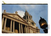 West Front Of St.paul's Cathedral, London Carry-all Pouch