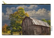 West Michigan Barn In Autumn Carry-all Pouch
