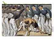 West Point Cartoon, 1880 Carry-all Pouch by Granger