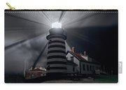 West Quoddy Head Lighthouse History And Facts Carry-all Pouch