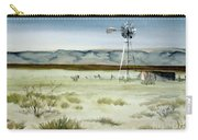 West Texas Windmill Carry-all Pouch