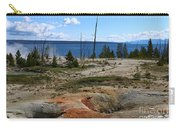 West Thumb Geyer At Yellowstone Lake Carry-all Pouch