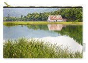 West Virginia Barn Reflected In Pond   Carry-all Pouch